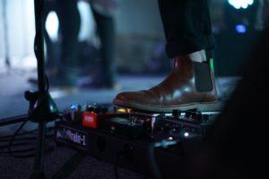 pedale d'effet musique